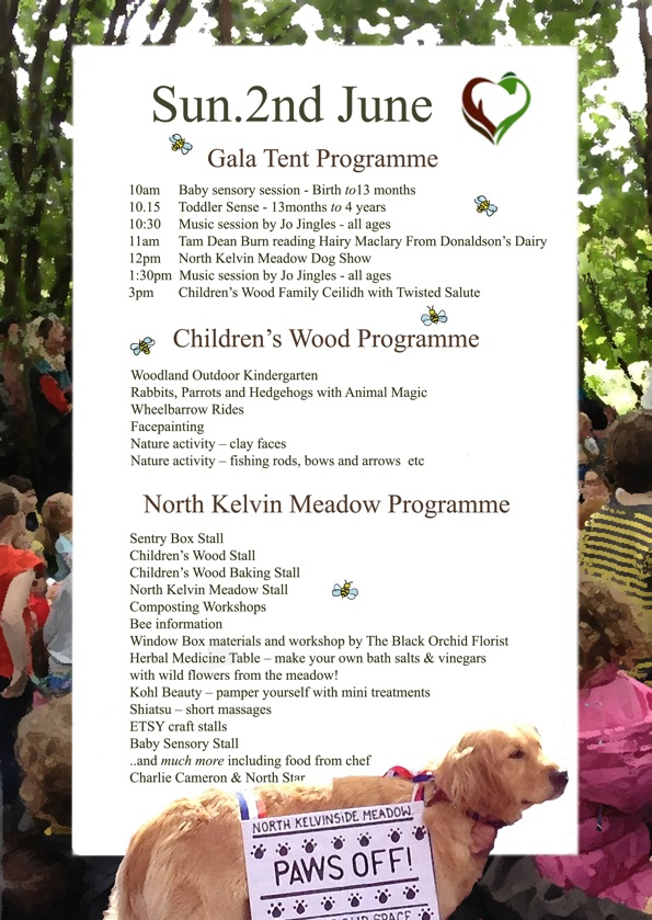 The Children's Wood West-End Festival Gala programme