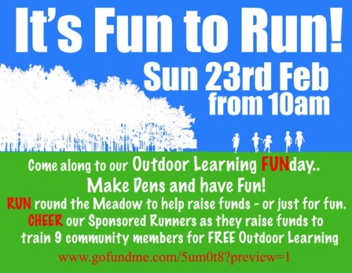 Fundraising fun run and nature activities