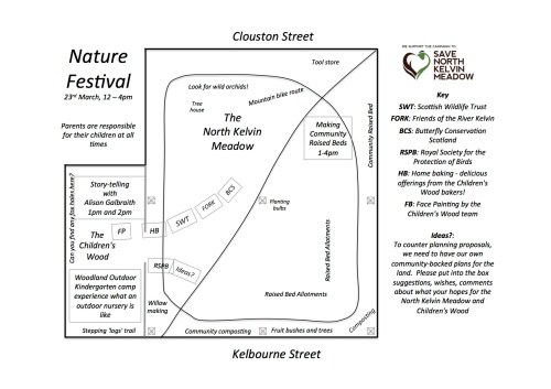Schedule for Nature Festival