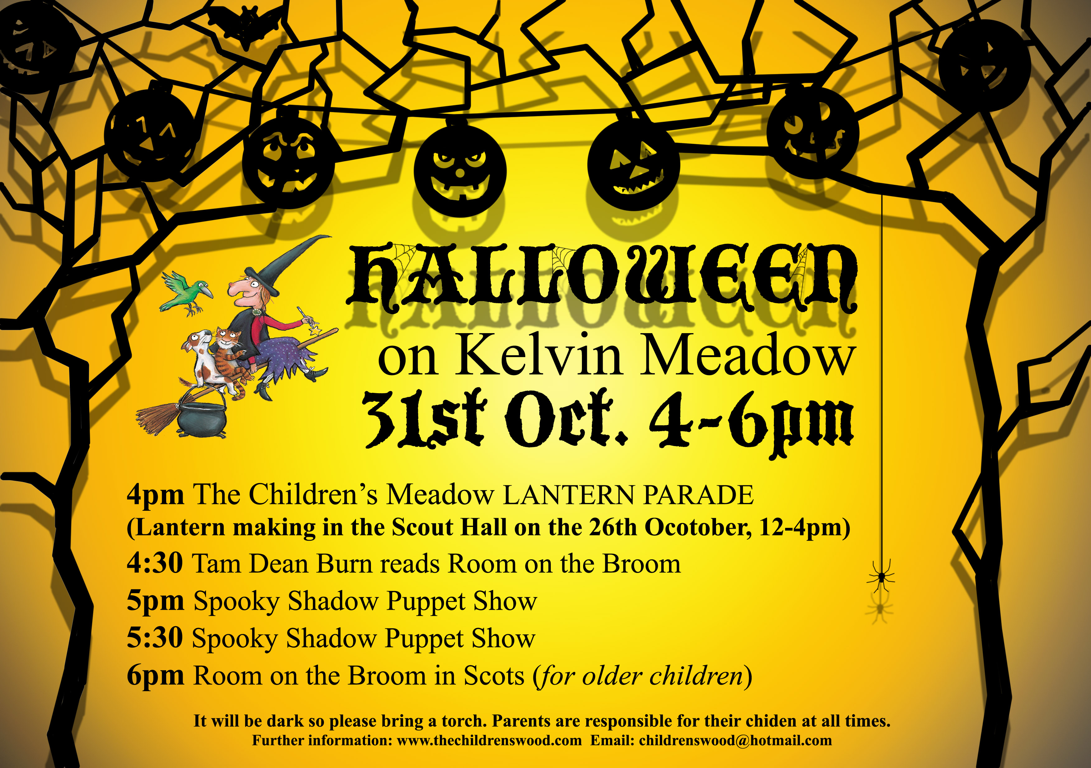 Halloween and Freecycle events! | The Children's Wood and North ...